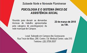 II Fórum de Psicologia da Baixada Fluminense