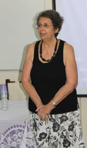 A conselheira-presidente do CRP-RJ, Diva Lúcia Gautério Conde (CRP 05/1448). Foto: Ascom/CRP-RJ