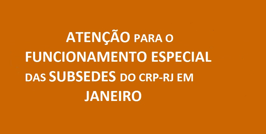 SUBSEDES JANEIRO